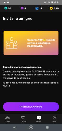 monedas-extra-por-invitar-a-amigos-a-playsmart